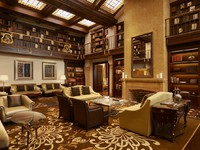 ОАЭ. Абу-Даби. The St. Regis Abu Dhabi. Hotel Exterior. The St Regis Bar - Library