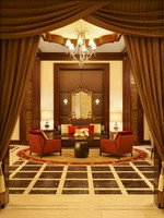 ОАЭ. Абу-Даби. The St. Regis Abu Dhabi. Hotel Exterior. Welcome Lounge