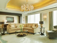 ОАЭ. Абу-Даби. The St. Regis Abu Dhabi. Al Manhal Suite - Living Room