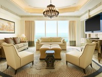 ОАЭ. Абу-Даби. The St. Regis Abu Dhabi. Al Mushref Suite - Living Room