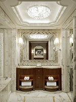 ОАЭ. Абу-Даби. The St. Regis Abu Dhabi. Guest Bathroom