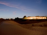ОАЭ. Дубай. Al Maha, a Luxury Collection Desert Resort & Spa. Presidential Suite - exterior