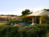 ОАЭ. Дубай. Al Maha, A Luxury Collection Desert Resort & Spa. Bedouin Suite exterior