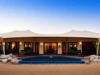 ОАЭ. Дубай. Al Maha, A Luxury Collection Desert Resort & Spa. Royal Suite - exterior
