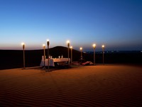 ОАЭ. Дубай. Al Maha, A Luxury Collection Desert Resort & Spa. Dune dining