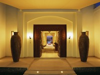 ОАЭ. Дубай. Al Maha, A Luxury Collection Desert Resort & Spa. Timeless Spa. Entrance
