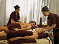 ОАЭ. Дубай. Al Maha, A Luxury Collection Desert Resort & Spa. Timeless Spa. Treatment - couple massage