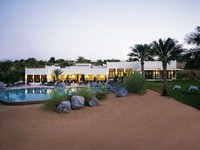 ОАЭ. Дубай. Al Maha, A Luxury Collection Desert Resort & Spa. Pool. Main pool