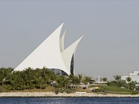 ОАЭ. Дубай. Creek Golf And Yacht Club In Deira. Фото Craig Robinson - Depositphotos