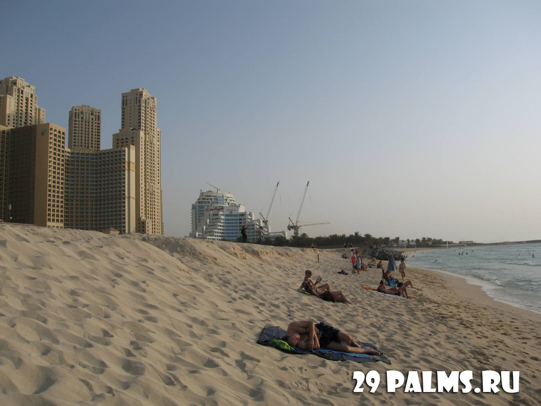 Пляж в дубаи фото туристов