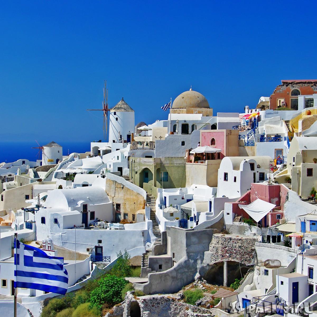 Греция санторини воспоминание о лете