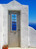 Греция. Санторини. Santorini - traditional cycladic style. Фото Maugli - Depositphotos