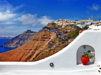 Греция. Санторини. Views of Santorini. Фото Maugli - Depositphotos