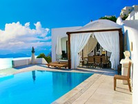 Греция. Санторини. Romantic holidays - Santorini resorts. Фото Maugli - Depositphotos