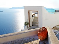 Греция. Санторини. Santorini resorts. Фото Maugli - Depositphotos