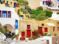 Греция. Санторини. Colors of Greece - Santorini. Фото Maugli - Depositphotos