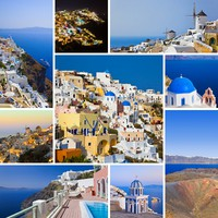 Греция. Санторини. Santorini (Greece) images. Фото Nikolai Sorokin - Depositphotos