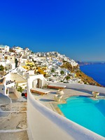Греция. Санторини. Luxury Greek holidays - Santorini. Фото Maugli - Depositphotos