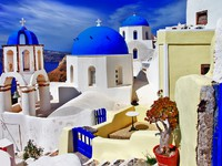 Греция. Санторини. Santorini series - Oia village. Фото Maugli - Depositphotos