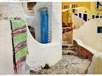 Греция. Санторини. Traditional streets of Santorini. Фото Maugli - Depositphotos