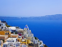 Греция. Санторини. Santorini View - Greece. Фото Nikolai Sorokin Depositphotos