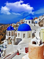 Греция. Санторини. Colors of Santorini series. Фото Maugli - Depositphotos