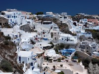 Греция. Санторини. Santorini. Фото dashek - Depositphotos