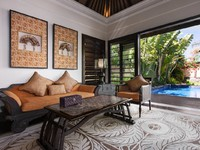Индонезия.О.Бали. The St. Regis Bali Resort. Gardenia Villa - Living Room