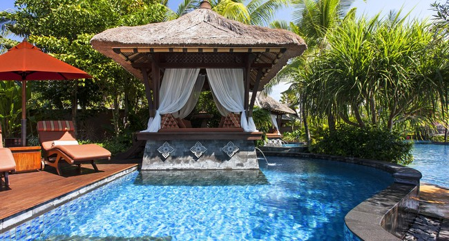 Индонезия.О.Бали. The St. Regis Bali Resort. Lagoon Villa - Private Bale Bengong