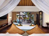 Индонезия.О.Бали. The St. Regis Bali Resort. The Strand Villa - Bedroom with Ocean View