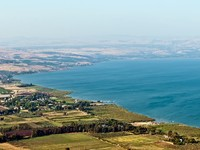 Израиль. View of the Galilee in the summer . North Israel. Фото Larisa Pakhtusov - Depositphotos