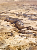 Израиль. Desert in Israel - view from Masada. Фото Karol Kozlowski - Depositphotos