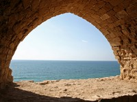 Израиль. Apollonia National Park in Herzliya, Israel. Фото Christopher Bradshaw - Depositphotos