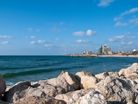 Израиль. Panoramic view of Herzliya (Israel). Фото Larisa Pakhtusov - Depositphotos