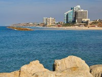 Израиль. View of a part of Herzlia seashore. Israel. Фото Oleg Zaslavsky - Depositphotos