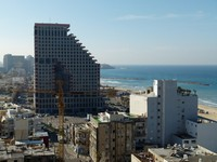 Израиль. Тель-Авив. Вид на город из отел Isrotel Tower Tel-Aviv