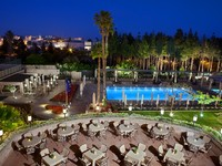Израиль. Иерусалим. The King David Hotel Jerusalem
