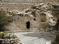 Place of the resurrection of Jesus Christ in Jerusalem Israel. Фото Chris Willemsen - Depositphotos