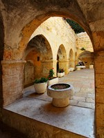 Израиль. Иерусалим. Courtyard at Mount Zion, Jerusalem, Israel. Фото Roman Sigaev - Depositphotos