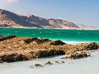 Израиль. Мертвое море. South of the Dead Sea in September. Pavel Raigorodski - Depositphotos