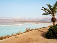 Израиль. Мертвое море. View of Dead Sea Israel coastline. Фото Ron Zmiri - Depositphotos