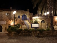 Израиль. Тель-Авив. Old street of Jaffa, Tel Aviv in the night, Israel. Фото konstantin32 Depositphotos