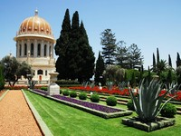 Израиль. Хайфа. The Bahai Temple and gardens in Haifa, Israel. Фото Rafael Ben-Ari - Depositphotos