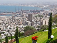 Израиль. Хайфа. View of Haifa.  Фото Jan Wachala - Depositphotos