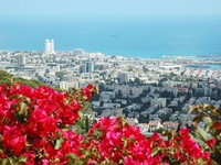 Израиль. Хайфа. Panorama of modern city Haifa ,Israel. Фото Yuliya Kryzhevska - Depositphotos