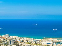 Израиль. Хайфа.  Coast of Haifa the largest city in northern Israel. Фото Anton Ivanov Depositphotos