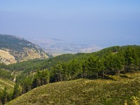 Израиль. Mountain landscape in the north of Israel. Фото Ludmila Peker - Depositphotos