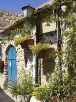 Израиль. Old stone house in Safed, Upper Galilee, Israel. Фото Alex Postovski - Depositphotos