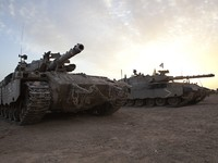 Израиль. Merkava Mk 4 Baz Main Battle Tank. Фото Dmitry Pistrov - Depositphotos