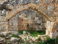 Израиль. Ruins of Montfort castle in western Galilee, Israel. Фото Eva Chafarnski - Depositphotos